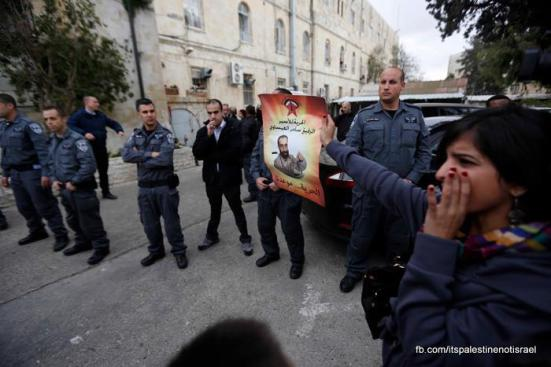 Samer Issawi's court hearing, Jerusalem, Feb 19, 2013_39