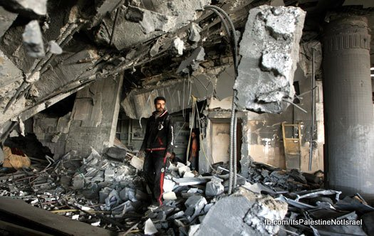 destroyed-hotel-gaza-city