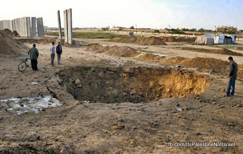 rafah-crater-attack