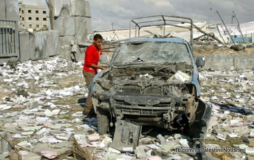 rafah-destroyed-car