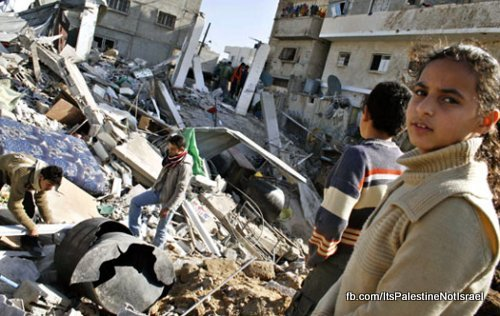 sifting-rubble-gaza-strip