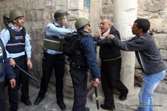 Israeli occupation forces storm Al-Aqsa compound_March_8_2013_13