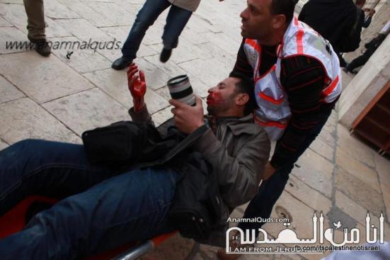 Israeli occupation forces storm Al-Aqsa compound_March_8_2013_27