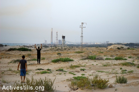 'No-go zone', Northern Gaza Strip, 30.5.2014
