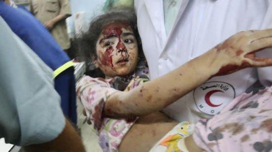 Children death in gaza war