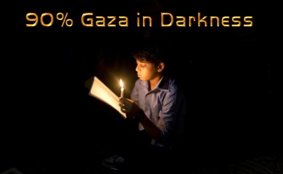afp gaza power cut