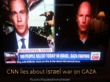 "CNN headline: ""100 people killed today in Israel, Gaza fighting"""