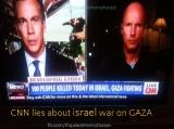 "CNN headline: ""100 people killed today in Israel, Gazafighting"""