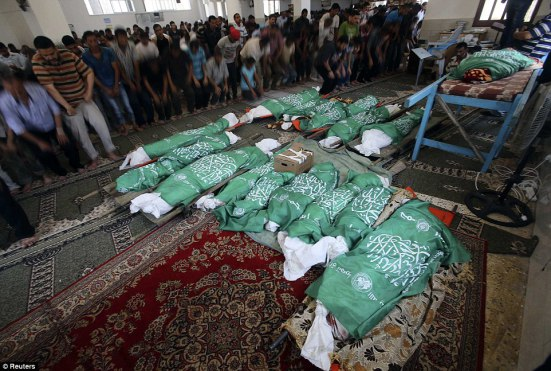 Death toll from Israeli attacks on Gaza hits 830