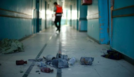 el-wafa-hospital-gaza-bombing