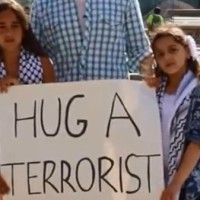 'Hug A Terrorist?' Arab girls act to save Gaza victims