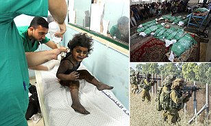 Israel - Gaza conflict, Gaza, Palestinian Territories - 20 Jul 2014