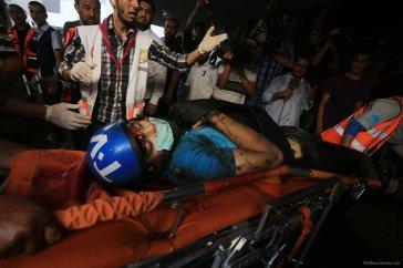 Israel-shells-Shujaya-market-in-Gaza-003