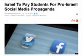 Israel to Pay Students for Pro-Israeli Social MediaPropaganda