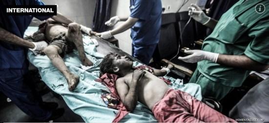 latest-israel-attack-on-gaza-under-attack