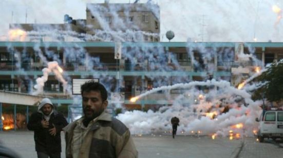 phosphorus bombs on Gazans