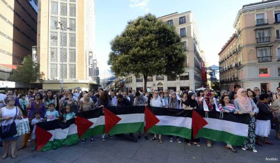 Protest-in-spain-against-Israel-War-on-Gaza-under-attack-006