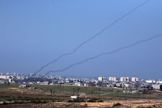 rockets fired by hamas from gaza to israel