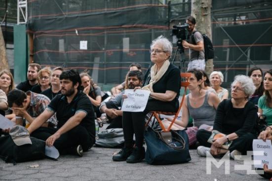 Daniel Tepper - Manhattan Gaza Vigil - 03