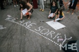 New Yorkers hold vigil for Gaza's lost