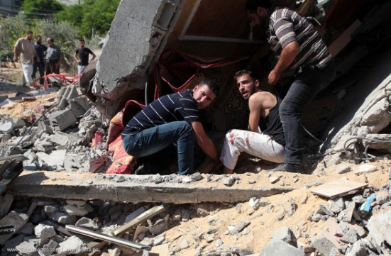 Gaza-under-attack-09-July-2014-photos-082