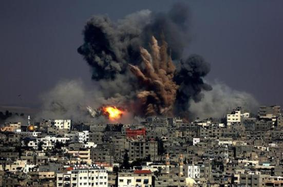 gaza-war-bombing-gaza-under-attack