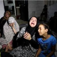 Israeli occupation Forces bomb house kills woman while breastfeeding newborn baby