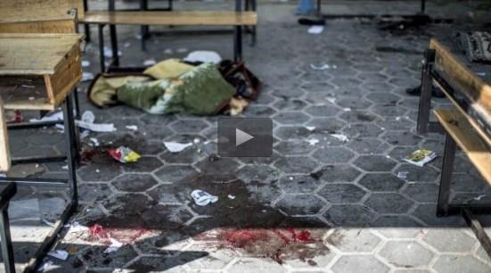 Israel admits attacking UN school in Gaza
