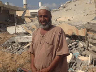 Israel killed his son, destroyed his home, and bombed his sons car