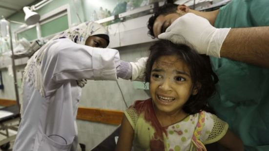 Israel using weapons of mass destruction against Gaza