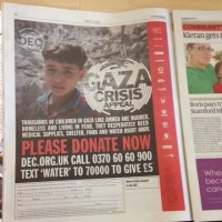 Israeli newspaper forced to apologize for Publishing Gaza Aid Advert