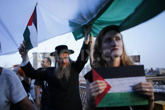 pro-palestinian-protest-on-the-brooklyn-bridge-in-new-york-city_5567874