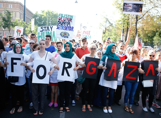 protest-in-Vienna-against-israel-war-on-gaza