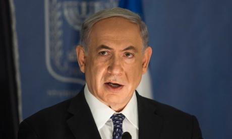 Israeli prime minister Binyamin Netanyahu. Photograph: Dan Balilty/EPA